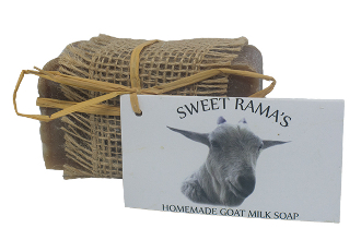 "Vanilla ""Goat""meal Soap Bar"